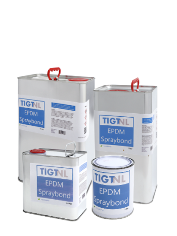 TIGT EPDM spraybond